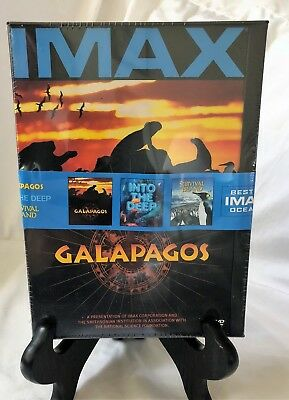 Imax Best Of Oceans Collection (galapagos/into Deep/survival Island) - 3 DVD NEW