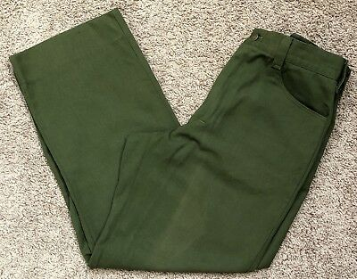 FSS Aramid Wildland Firefighter Pants Green Made in USA Women's Size 14X29