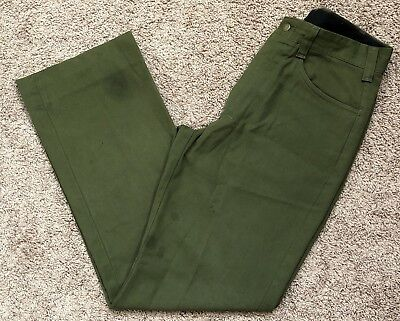FSS Aramid Wildland Firefighter Pants Green Made in USA Size 34x34