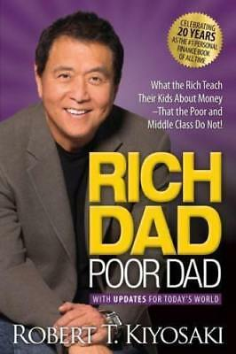 NEW Rich Dad Poor Dad By Robert T. Kiyosaki Paperback - Free Shipping