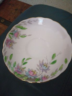 TUSCAN, Fine English China Vintage Saucer 14cm. Made in England.
