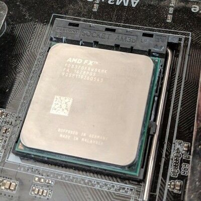 AMD FX-8370 - 4 GHz Octa-Core Processor with stock cooler