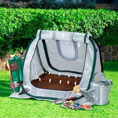 Pop Up Greenhouse Portable Grow Seeds Seedlings Plants Shade Cover Garden Patio