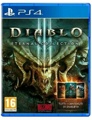 Diablo Iii 3 Eternal Collection Edition Ps4 Videogioco Play Station 4 Italiano