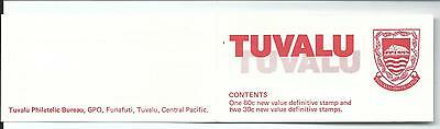 Tuvalu  1983 $1.20 Booklet  Complete MUH/MNH as Issued