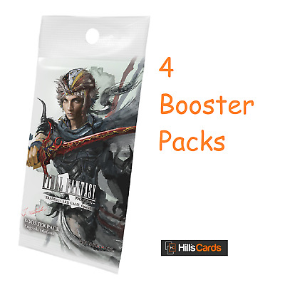 Final Fantasy Opus VI: 4 Sealed Booster Packs - Trading Card Game TCG 6