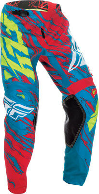 Fly Racing Kinetic Relapse Pant Teal/red Sz 22 370-43922