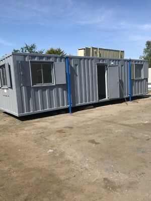 32 x 10 Open Plan Site Office with kitchen&toilet/ welfare unit/ portable cabin