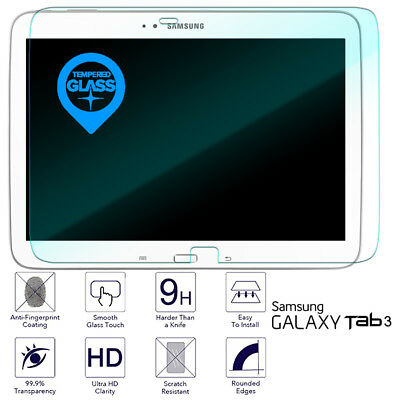 For Samsung Galaxy Tab 3 10.1 Tempered Glass Screen Protector Clear P5200 P5210