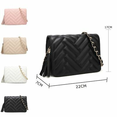 Eda Quilted Cross Body Bag
