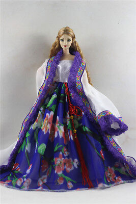 Fashion Princess Party Dress/Evening Clothes/Gown For Barbie Doll p92