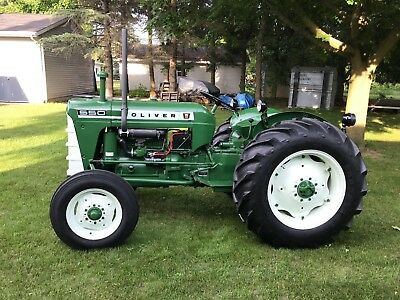 1964 oliver 550 tractor showroom quality with attachments