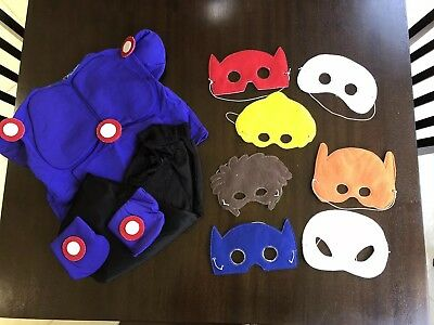 Big Hero Masks Set With Baymax outfit
