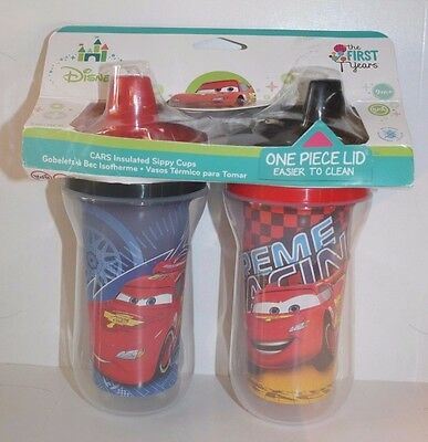 The First Years Disney/Pixar Cars Insulated Sippy Cups - 9 oz