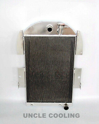 NEW 3 ROWS Aluminum Radiator  Fit 1934 -1936 Chevy Pickup Truck CC3436CH