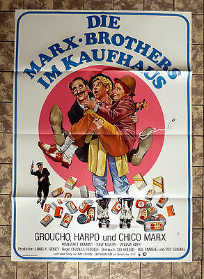 MARX BROTHERS IM KAUFHAUS / THE BIG STORE * A1-FILMPOSTER -German 1-Sheet RR´70s
