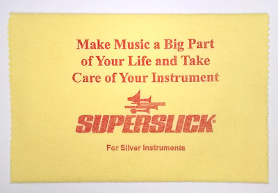 Superslick Polishing Cloth - Silver Instruments