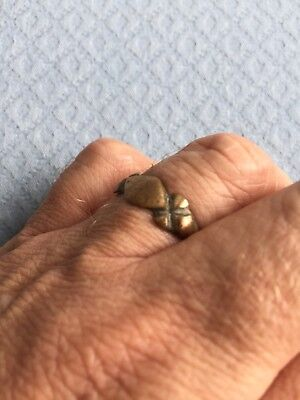 Ancient Medieval Bronze Ring SUMMER SALE PRICE!