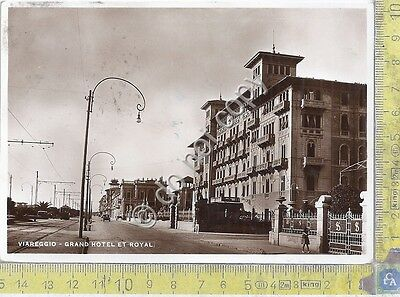 Cartolina - Postcard - Viareggio - Grand Hotel e Royal - 1934