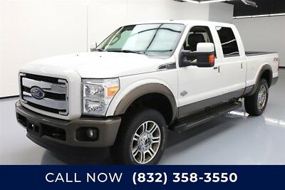 Ford F-250 King Ranch 4dr Crew Cab 4WD Texas Direct Auto 2015 King Ranch 4dr Crew Cab 4WD Used Turbo 6.7L V8 32V 4X4