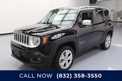 Jeep Renegade Limited Texas Direct Auto 2015 Limited Used 2.4L I4 16V Automatic 4X4 SUV