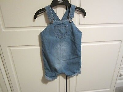 Mothercare Denim Rompers. 9 - 12 Mths