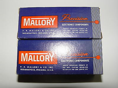 Mallory 3226J 3223J Rotary Switches Vintage New In Box