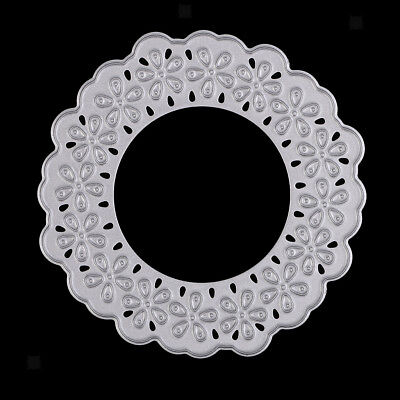 Cutting Dies Stencil Flower Frame for Photo Album Embossing Paper Craft DIY