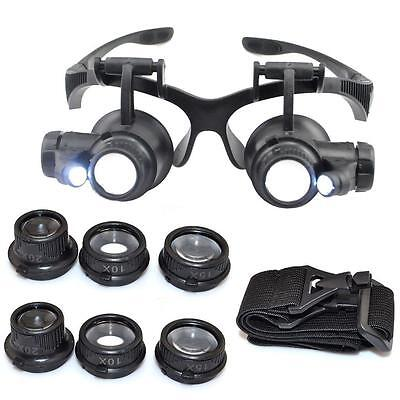 a5983f32b560 Jeweler watch repair magnifying glasses Lens Magnifications  10x 15x 20x 25x