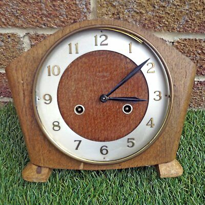 Smiths 8 day Striking Mantle Clock - Floating Balance Escapement - Spares / Part