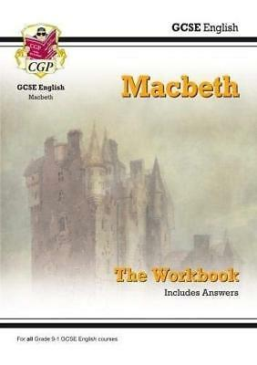 New Grade 9-1 GCSE English Shakespeare - Macbeth by CGP Books New Paperback Book