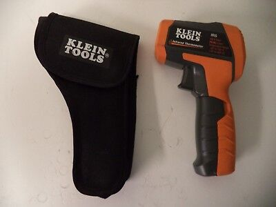 KLEIN TOOLS IR5 Dual-Laser Infrared Thermometer w Case
