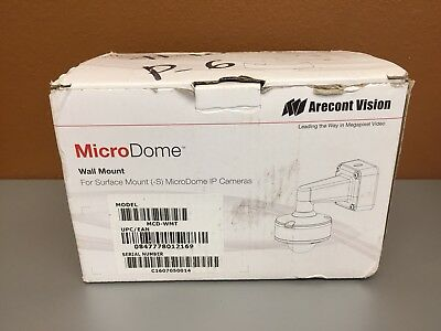 Arecont Vision MCD-WMT  Wall Mount for Surface Mount & MicroDome IP Cameras NEW
