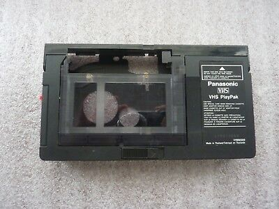 Panasonic PlayPak VYMW0009 VHS-C To VHS VCR Motorized Tape Adapter/Converter