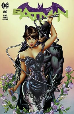 Batman 50 Ebas Limited Edition Trade Dress Variant Catwoman Wedding Issue Nm New