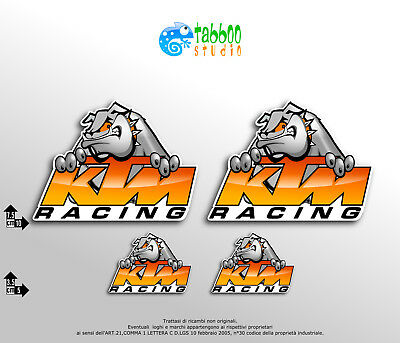 Adesivi KTM Racing Moto Stickers Duke Superduke Adventure Supermotard