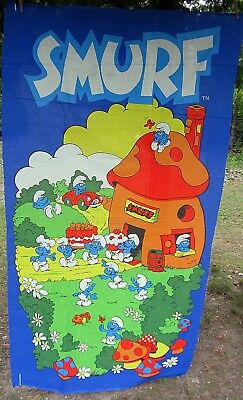 COLORFUL!  6' Smurfy Banner for Walls or a Quilt Center