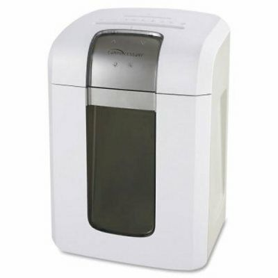 "Compucessory Shredder Cross-Cut, 18Sht Cap, 12""x16""x24-2/5"", White (CCS70005)"