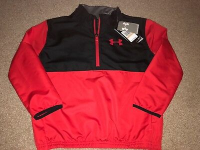 NWT Boys Lightweight 1/2 ZIP Under Armour Jacket Size Small Retail $49.99