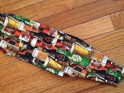 Male Dog Diaper-belly band-QUILTED-Washable- CRAFT BEER FESTIVAL by angelpuppi