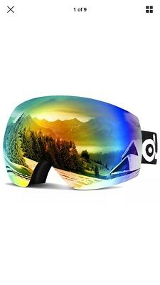 b6a6ca899d1b ODOLAND FRAMELESS SKI goggles for men and women with free extra lens ...