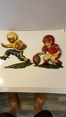 2 Vintage sexton solid aluminum wall hanging ,running,back ,place kicker .