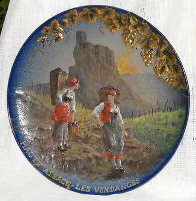 Victorian SARREGUEMINES - VLGE H'Paint WALL CHARGER A/F