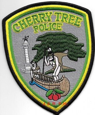 """*NEW*  Cherry Hill, Pennsylvania  (4"""" x 5"""" size) shoulder police patch (fire)"""