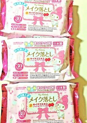 SANRIO My melody Makeup Remover 3packs