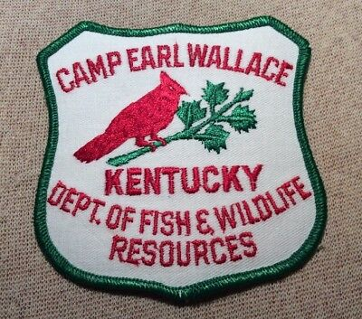 KY Camp Earl Wallace Kentucky Department of Fish/Wildlife Resources Patch