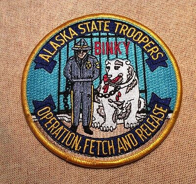 AK Alaska State Troopers Operation Fetch and Release Patch