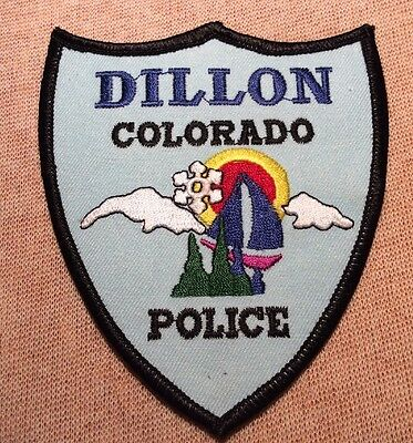 CO Dillon Colorado Police Patch