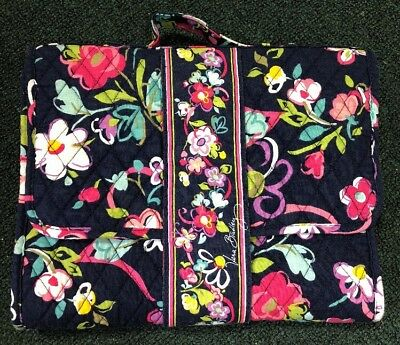 Vera Bradley BABY RIBBONS DIAPER CHANGING PAD CLUTCH Bag Flowers Quilted