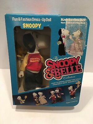 Vintage Knickerbocker Snoopy & Belle Fun & Fashion Dress-up Doll